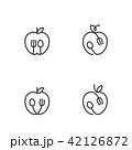 ベクター くだもの フルーツのイラスト 42126872