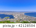 函館山から見る函館市街 42128504