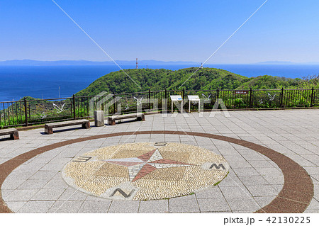 函館山から見た青森県 42130225