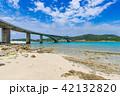 阿嘉大橋 橋 阿嘉島の写真 42132820