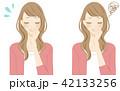 加齢臭に悩まされる女性 スメハラ 42133256
