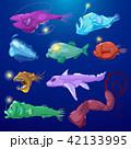 サカナ 魚 魚類のイラスト 42133995