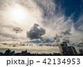 雲 空 風景の写真 42134953