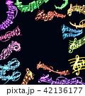 ベクター ミュージック 譜面のイラスト 42136177
