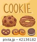 クッキー 食 料理のイラスト 42136182