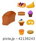 ベクトル クッキー 食のイラスト 42136243