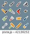 ベクトル のこぎり 器具のイラスト 42136252