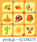 ベクトル アイコン メキシコのイラスト 42136275