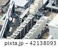 ビルの屋上・イメージ・空調設備・電力変電設備・給水タンク 42138093