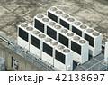 ビルの屋上・イメージ・空調設備 42138697