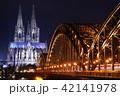 ケルン大聖堂 夜景01 42141978