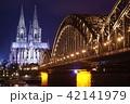 ケルン大聖堂 夜景02 42141979