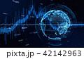 グローバル 地球 デジタルのイラスト 42142963