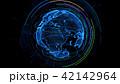 グローバル 地球 グローバルネットワークのイラスト 42142964