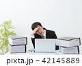 ビジネスマン 残業 オフィス 42145889