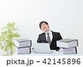 ビジネスマン 残業 オフィス 42145896