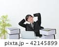 ビジネスマン 残業 オフィス 42145899