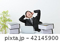 ビジネスマン 残業 オフィス 42145900