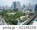 タイ王国首都バンコク、プロンポン駅周辺、高架鉄道、スカイトレイン、BTS 42146258