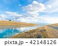 ニュージーランド 川 道路の写真 42148126