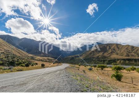ニュージーランドの道路 42148187