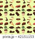 ベクトル チョコレート 食のイラスト 42151153