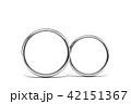 結婚指輪 マリッジリング ウエディングのイラスト 42151367