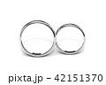 結婚指輪 マリッジリング ウエディングのイラスト 42151370