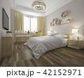 ベッド 寝台 寝床のイラスト 42152971