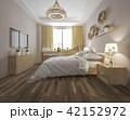 ベッド 寝台 寝床のイラスト 42152972