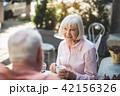老人 シニア 年上の写真 42156326