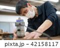 工場 職人 大工 作業 作業員 トリマー 目地払い  42158117