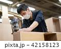 工場 職人 大工 作業 作業員 トリマー 目地払い  42158123