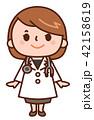 女性 医師 医者のイラスト 42158619