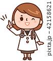 女性 医師 医者のイラスト 42158621