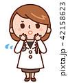 女医 女性 医師のイラスト 42158623