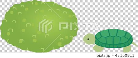 ずんだ餅とカメのイラスト素材 [42160913] , PIXTA