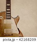 背景-紙-エレキギター 42168209