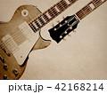 背景-紙-エレキギター 42168214