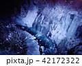 白髭の滝 冬 ライトアップの写真 42172322