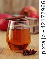 Apple cider with spices. 42172966