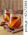 Apple cider with spices. 42172969