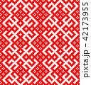 パターン 柄 模様のイラスト 42173955