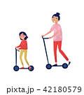 女の子 女児 女子のイラスト 42180579