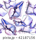 結晶 宝石 鉱物のイラスト 42187156