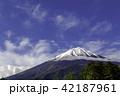 富士山 初夏 風景の写真 42187961