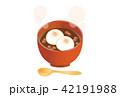 餅 デザート 食べ物のイラスト 42191988