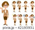 バリエーション 表情 ベクターのイラスト 42193931