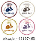 Set of retro vintage camp labels and logo graphics 42197463