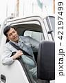 男性 トラック 運転の写真 42197499